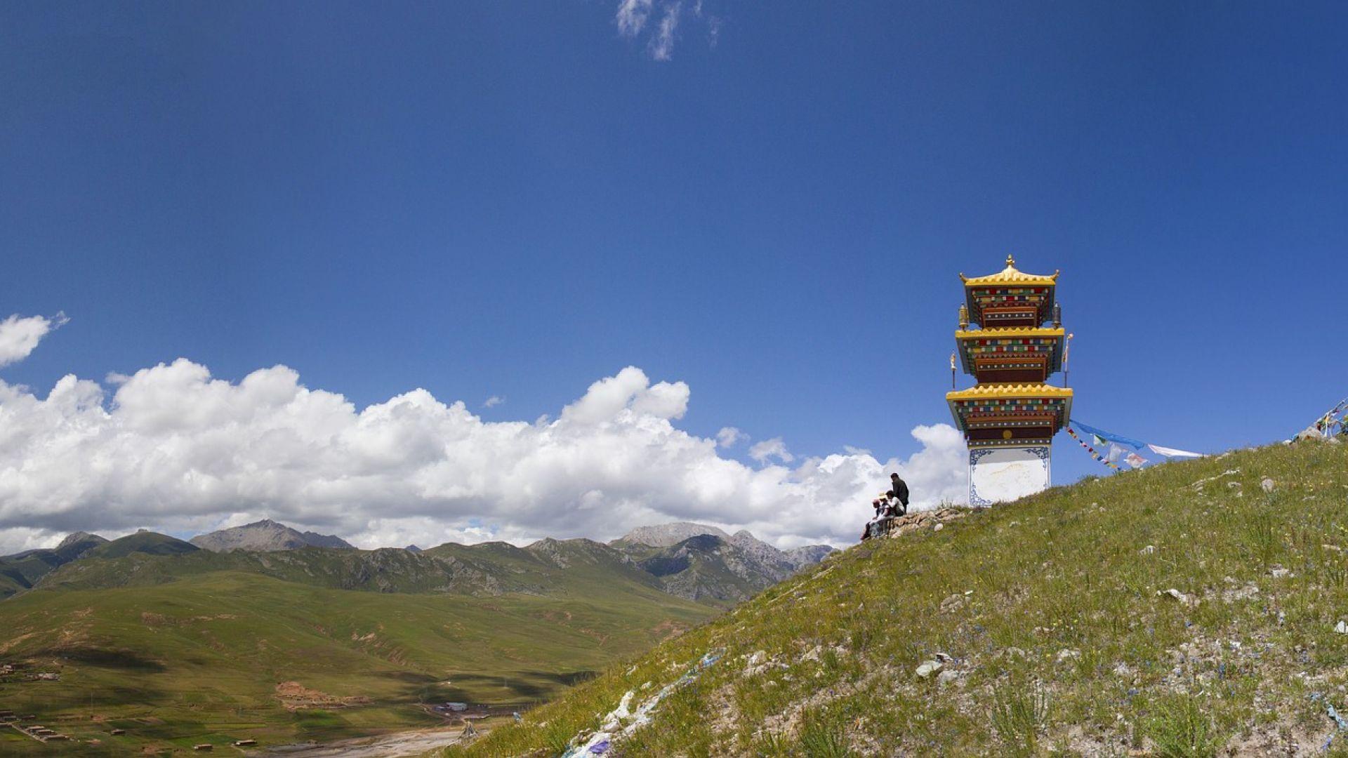 Motorradreisen Motorradtouren Himalaya China Tibet Lhasa