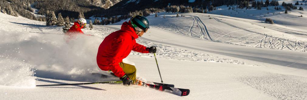 Skiurlaub, Skireisen, Gruppenreisen, Ski alpin, Freeride, Kinderbetreuung, Skikurs, Alpen, Rocky Mountains