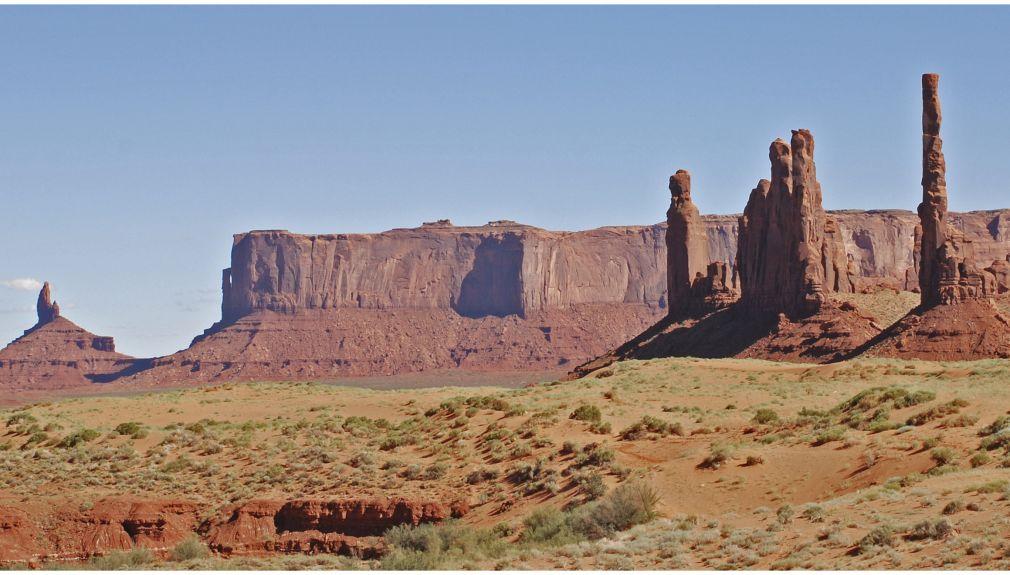 Motorradtour USA Monument Valley Big Sky Harley Davidson Big Twin Adventure Westküste
