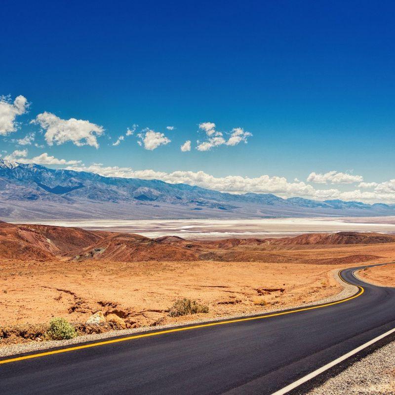 Motorradtour USA Death Valley Big Sky Harley Davidson Big Twin Adventure Westküste